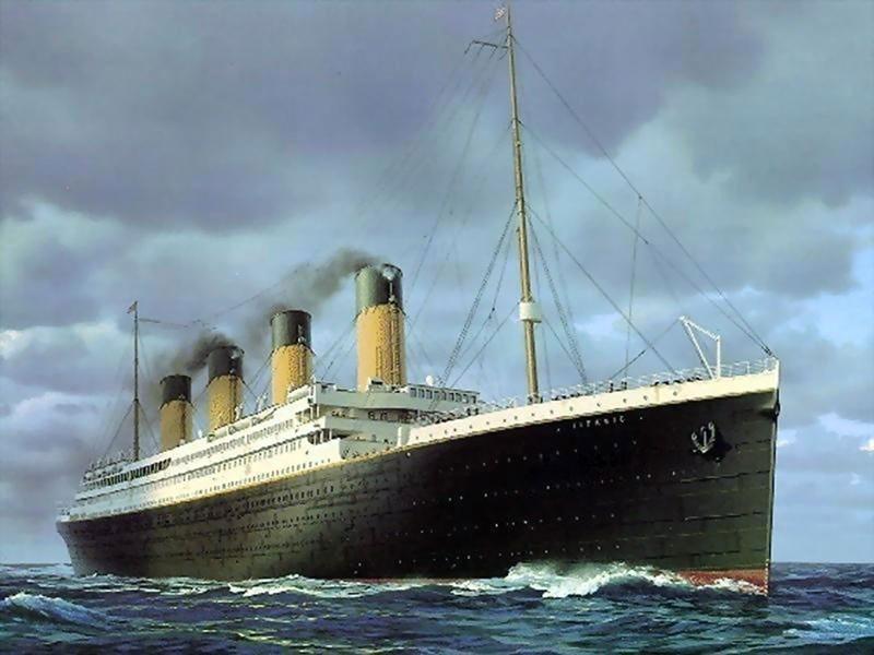 Sto let nazad proizoshlo korablekrushenie Titanika 1 100 лет назад произошло кораблекрушение Титаника