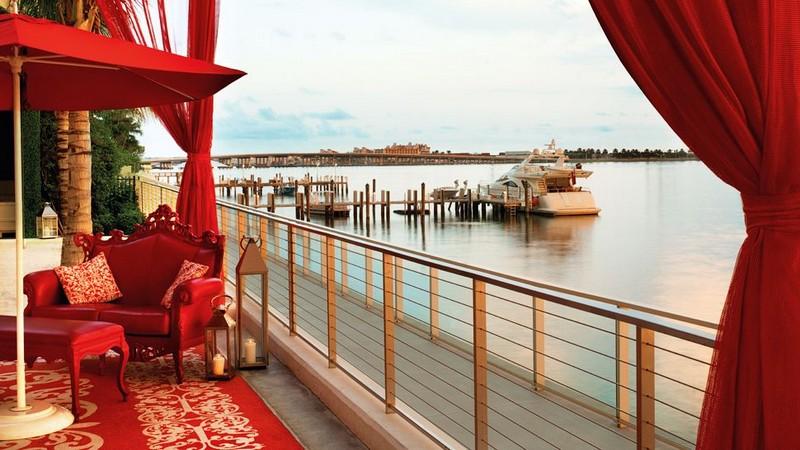 Удивительно красивый дизайн отеля Mondrian South Beach