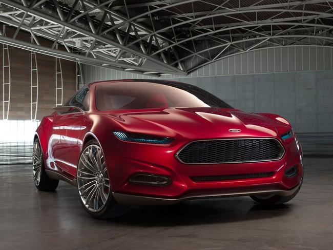 Ford Evos - красивый концепт-кар