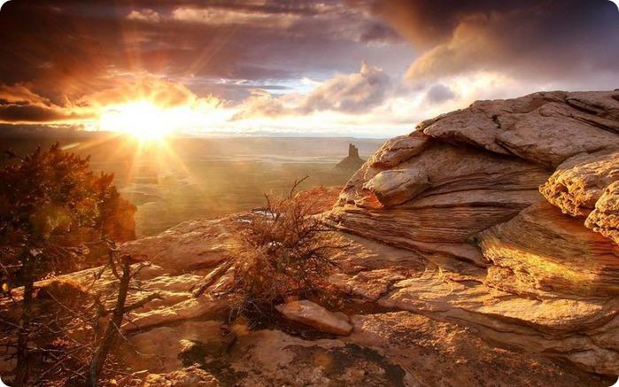 Фотографии солнца - как снимать рассвет или закат