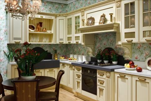 Модные тенденции в интерьере кухонной мебели