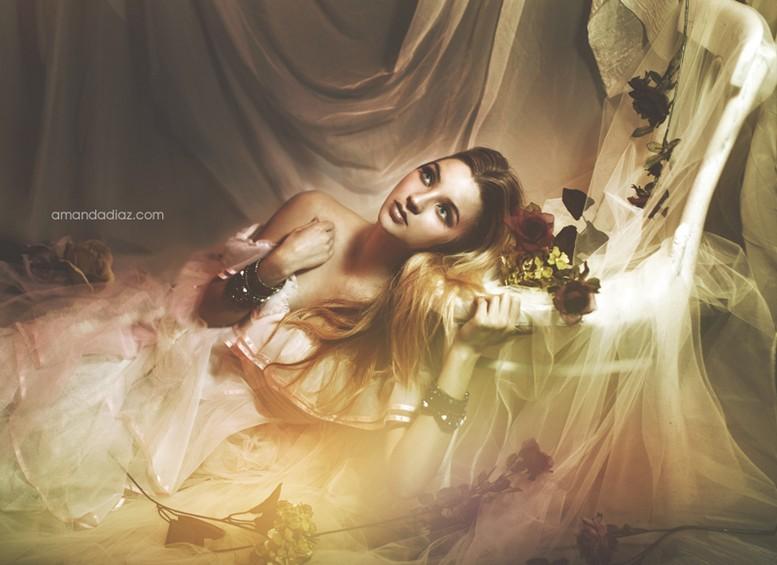 Романтичные fashion photo от Amanda Diaz