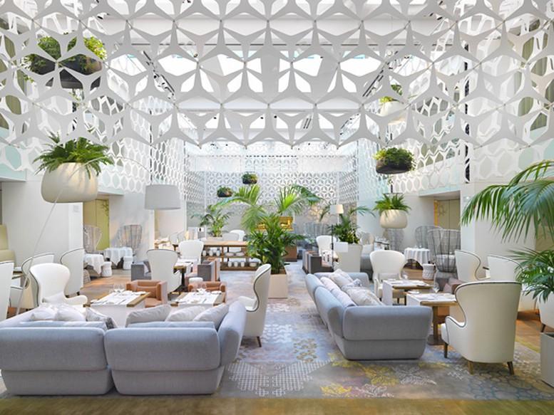 Роскошный стиль в интерьере гостиницы Mandarin Oriental Hotel