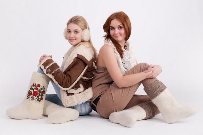 Модные валенки - отечественный конкурент заморским уггам