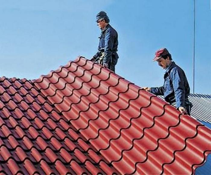 Pokry tiya dlya kry shi krovlya iz metallocherepitsy 1 Покрытия для крыши   кровля из металлочерепицы
