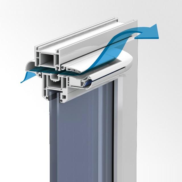 Система проветривания для пластиковых окон