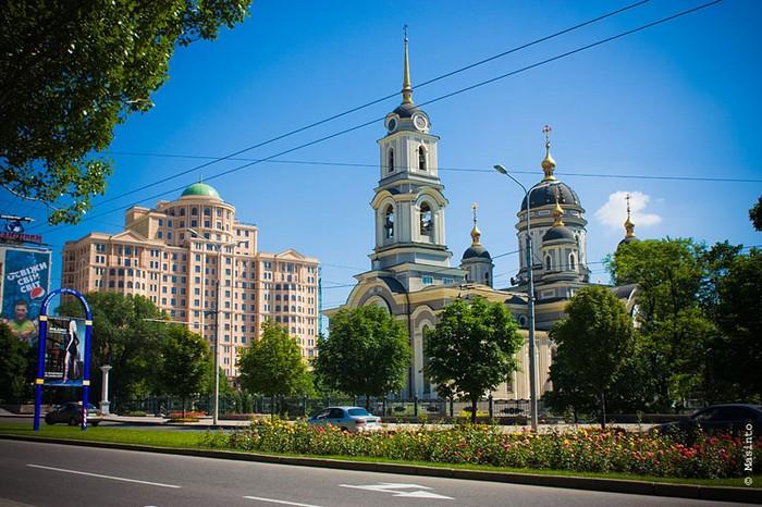 Современная архитектура Донецка