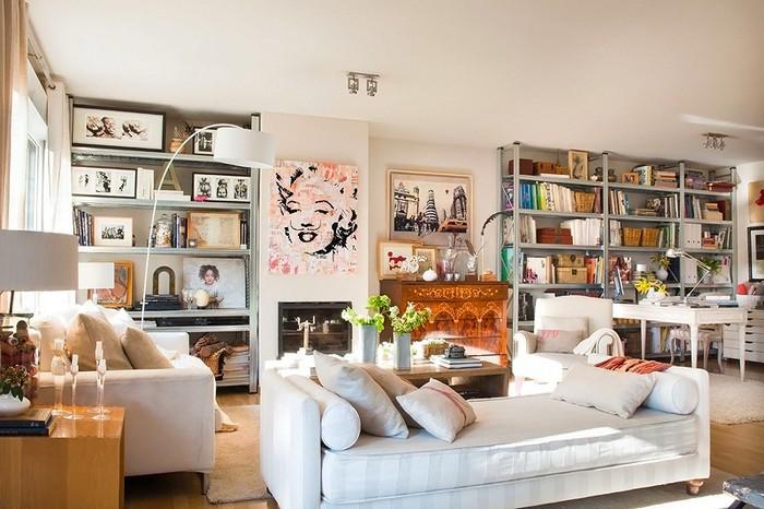 Стиль шебби-шик в интерьере одной испанской квартиры