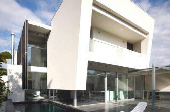 Австралийский частный дом в стиле минимализм