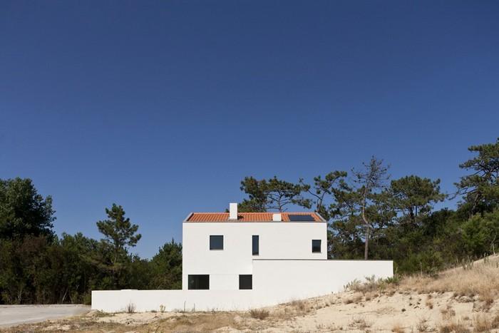 Белый дом архитектора Nuno Silva