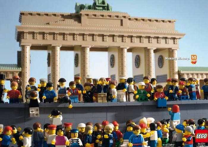 Прикольная реклама конструкторов Lego
