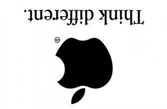 Кретаивный Apple логотип от Viktor Hertz