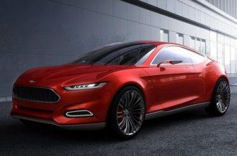 Оригинальный концепт-кар Ford Evos