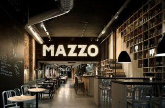 Интерьер итальянского ресторана Mazzo