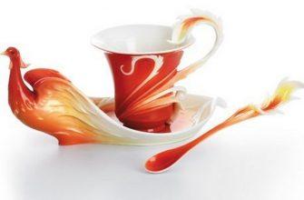 Красивые чайные чашки - лепной китайский фарфор 1