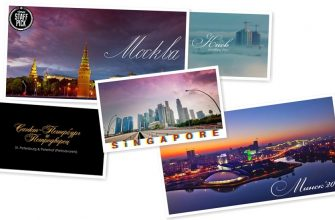 5 городов мира в Time Lapse видео от Артем Прядко