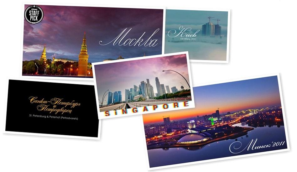 5 городов мира в Time Lapse видео от Артема Прядко