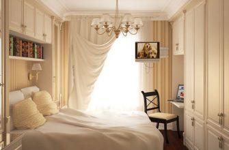 Дизайн маленькой спальни - 40 удачных идей оформления 1