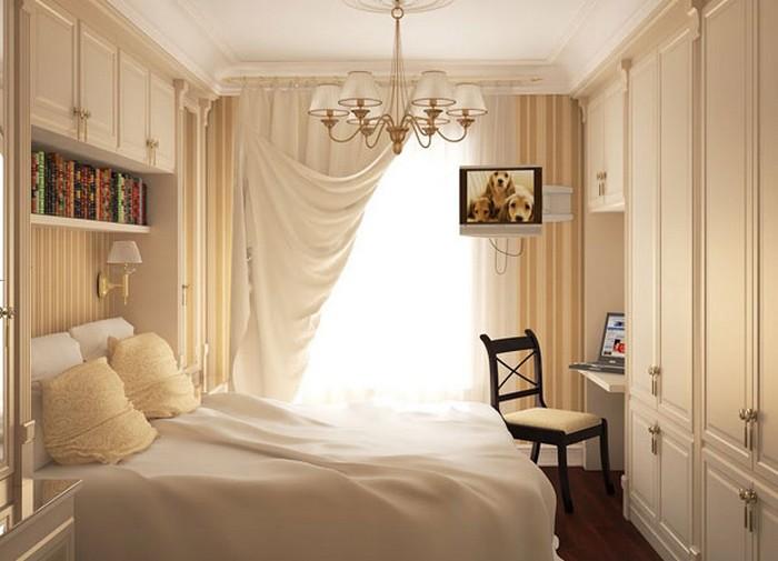 Дизайн маленькой спальни – 40 удачных идей оформления