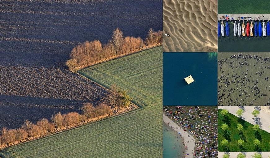 Пейзажи снятые с высоты птичьего полета Клаусом Лейдорфом
