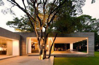 Grecia House - красивый дом в Сан-Паулу