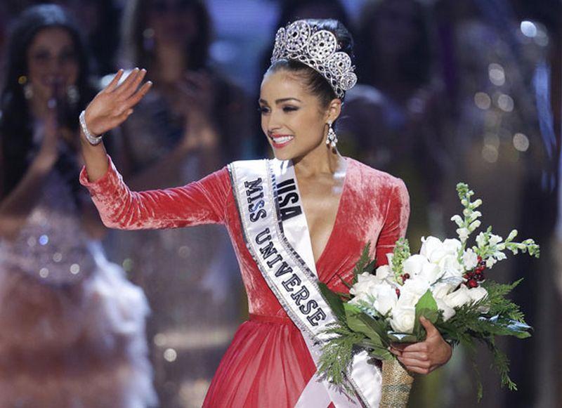 Мисс вселенная 2012 стала американка Оливия Калпо 1