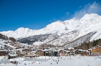 Саас-Фе - самый красивый курорт Швейцарии