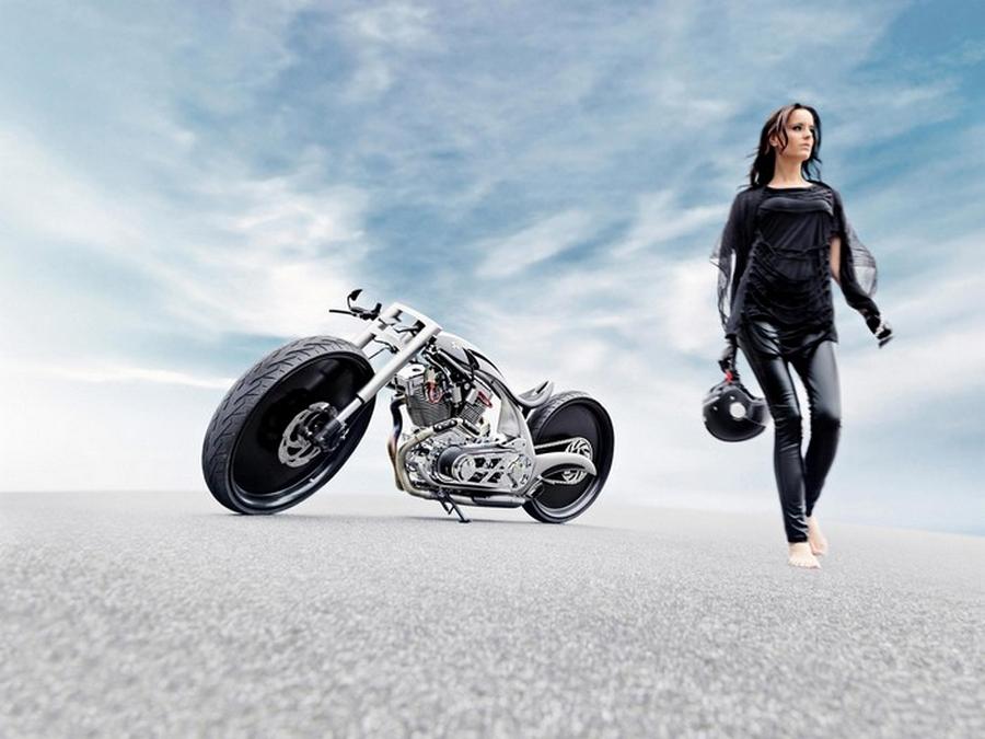 Akrapovic Morsus – дизайнерский кастом-байк от Dreamachine Motorcycles
