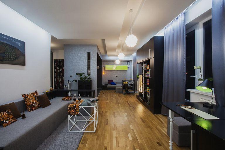 Интерьер квартиры студии во Львове