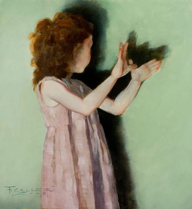 Романтизм в живописи Фреда Каллери (Fred Calleri)
