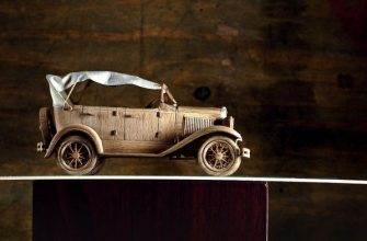 Удивительные масштабные модели автомобилей из дерева от Алексея Сафонова