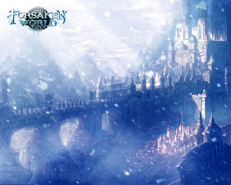 Красивая онлайн-игра Forsaken world