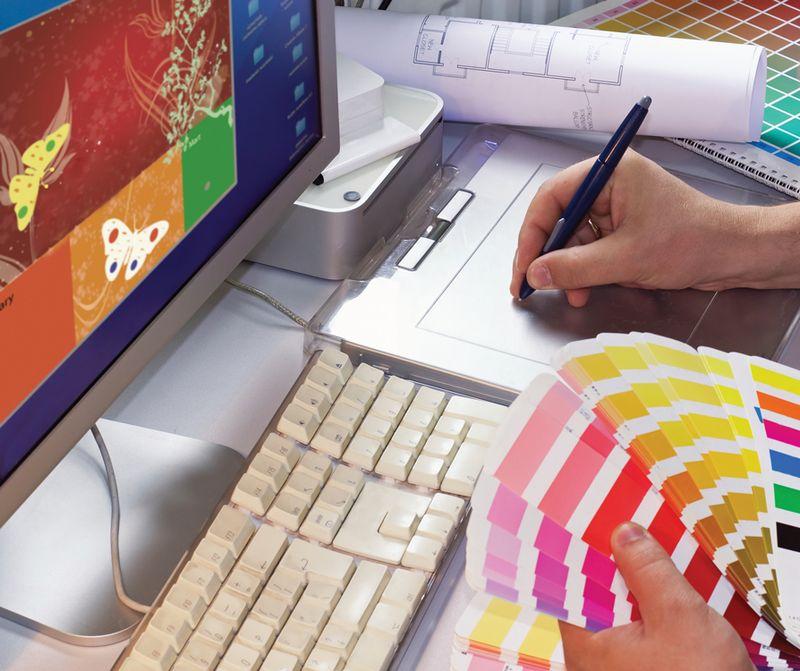 Веб дизайнер для девочки