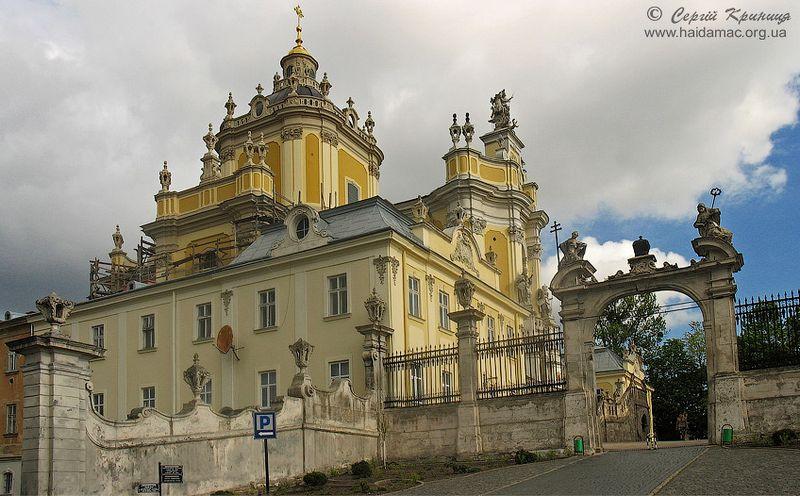 Собор Святого Юра - жемчужина Львова