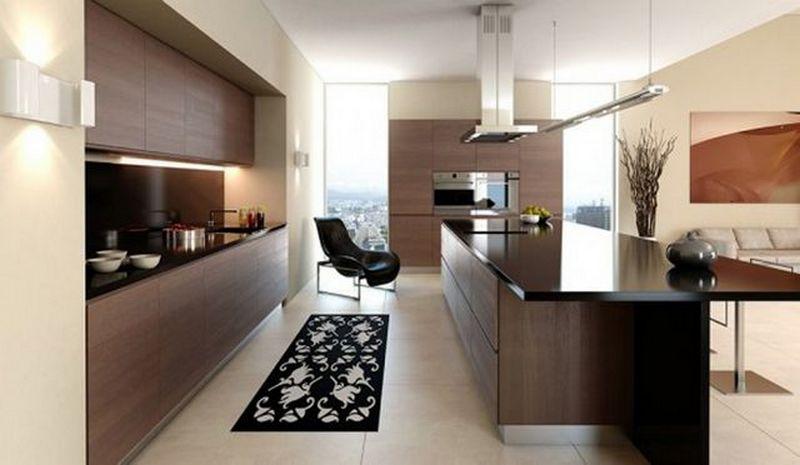 Кухни современные дизайн и интерьер 2017 191