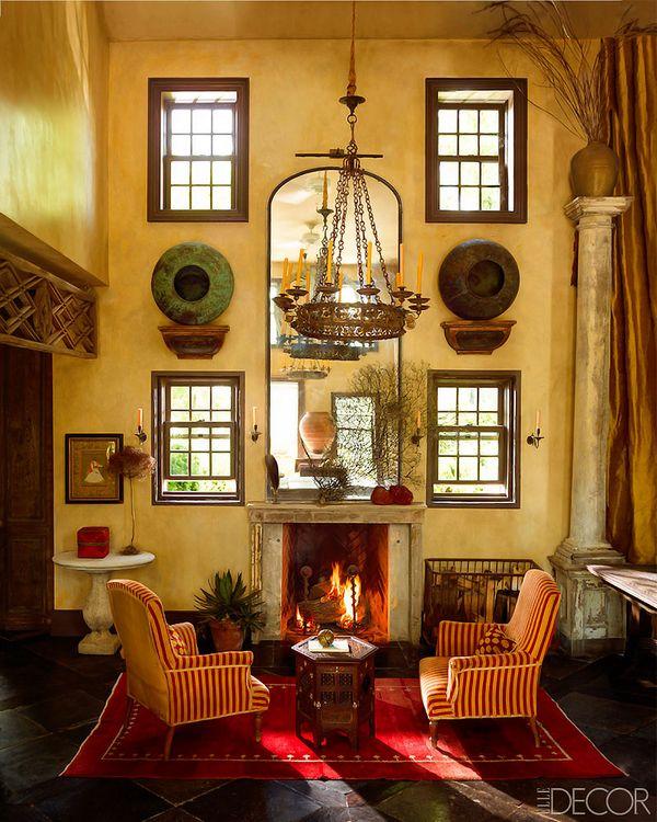 Необычный интерьер дома Майкла Трэппа