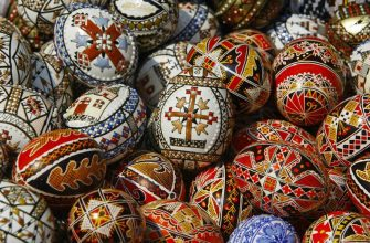 Пасхальные яйца - красим натуральными красителями