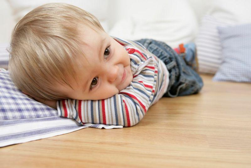 Пол в детской комнате - варианты покрытия