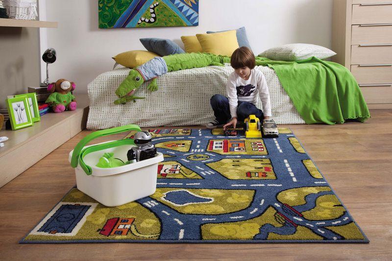 Пол в детской комнате - варианты покрытия 3