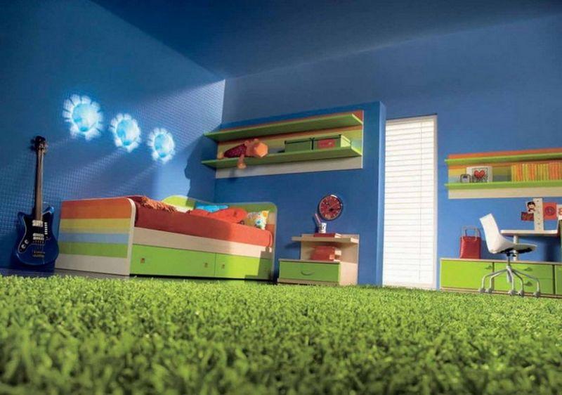 Пол в детской комнате - варианты покрытия 6