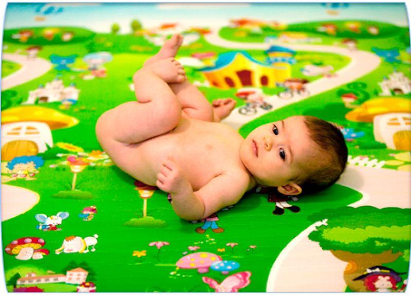 Пол в детской комнате - варианты покрытия 7