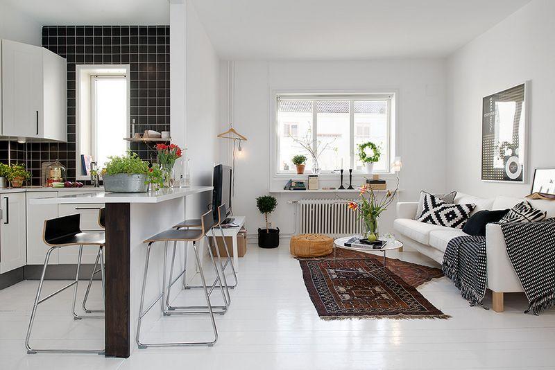 Скандинавский стиль на примере квартиры из Гетеборга