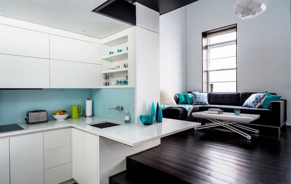 Небольшой лофт на Манхэттене от Spect Harpman Architects