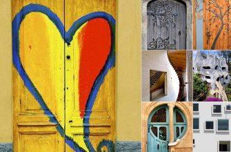 Необычные двери и окна со всего света