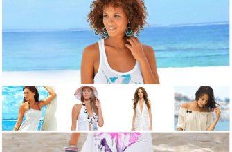 Пляжное белое платье - готовимся к лету