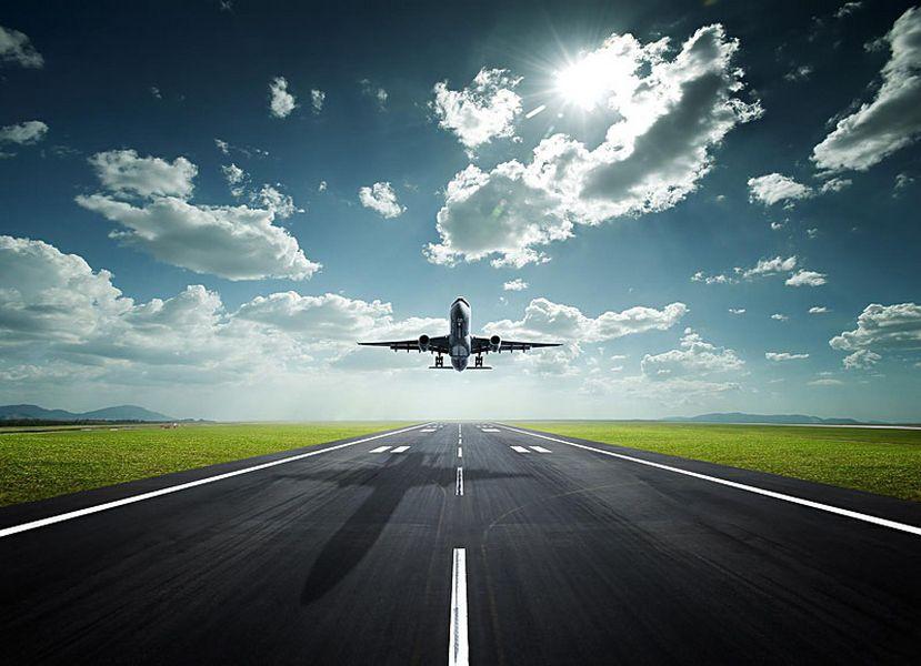 Полет на самолете  4