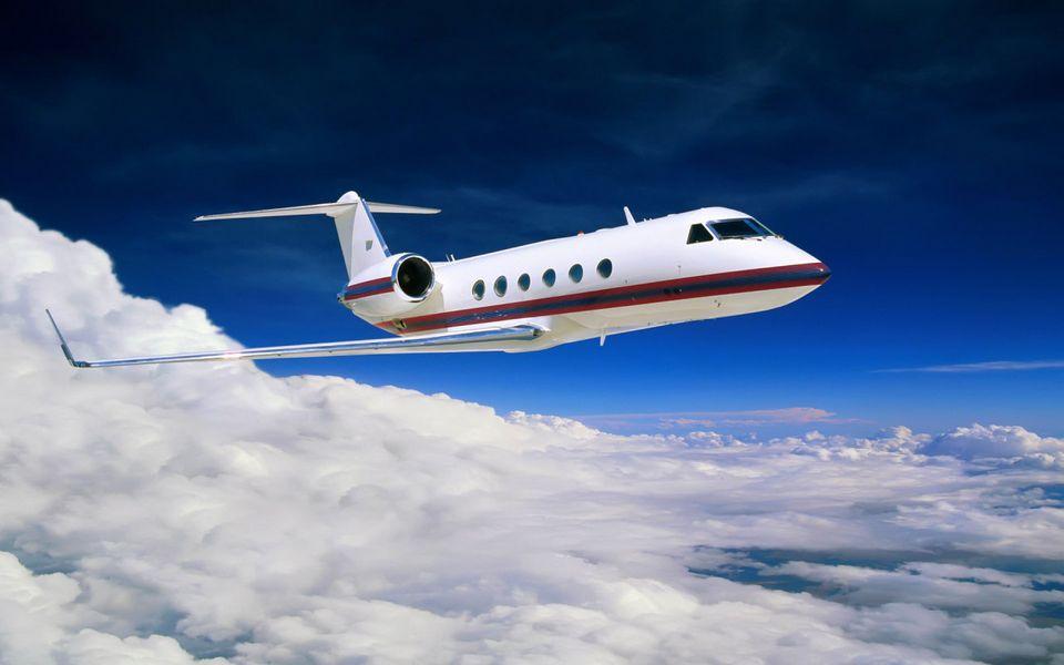Полет на самолете  5