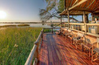 Гостиница Eagle Island Camp для любителей сафари
