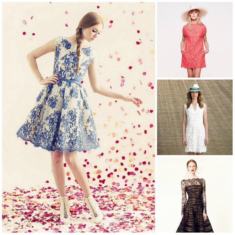 Кружева - модный тренд лета 2013
