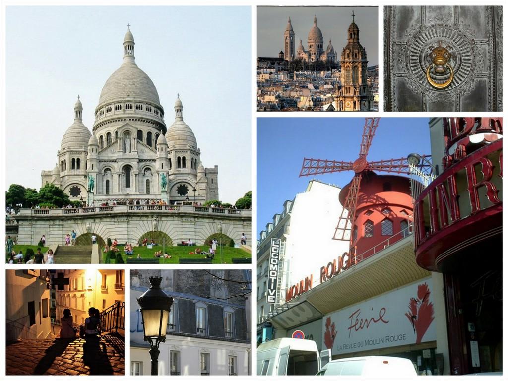 Монмартр - красивые достопримечательности Парижа